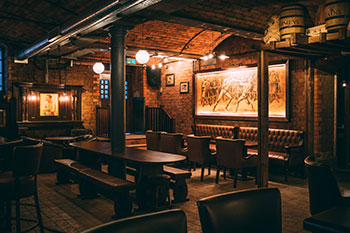 Punch Tarmeys Irish Pub at Cains Brewery Created by the Irish Pub Company and McNally Design
