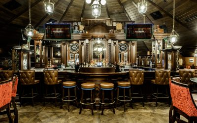 Irish Pub in Nigeria Africa, the home of Guinness, by the Irish Pub Company and McNally Design.