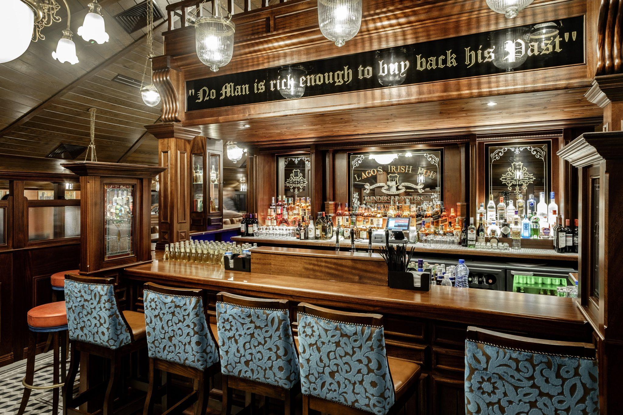 Hotel Bar Design | The Irish Pub