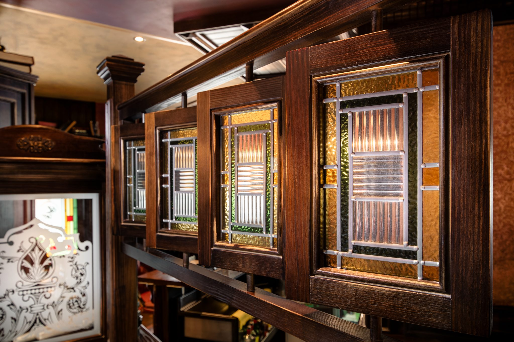 The Long Hall Irish Pub Malta created by McNally Design and the Irish Pub Company