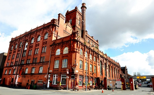 CAINS BREWERY LIVERPOOL REDEVELOPMENT BY THE IRISH PUB COMPANY AND MCNALLY DESIGN.
